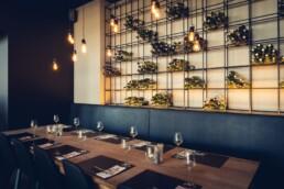 AnA interieur M EATERY Mechelen restaurant wijnrek uai Interieur Architecten | Mechelen | Design Studio Anneke Crauwels
