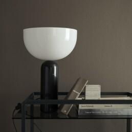 Kizu Tafellamp Zwart LARS TORNØE New Works