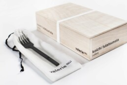 V8016006B koichi cutlery tableforkblack Interieur Architecten | Mechelen | Design Studio Anneke Crauwels
