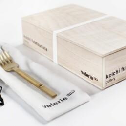 V8016006G koichi cutlery tableforkbrassbrushed b | Design Studio Anneke Crauwels | Interieur | Mechelen