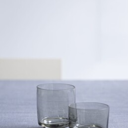 Glas 25 cl smokey grey MAARTEN BAAS Valerie Objects