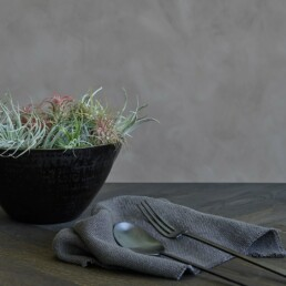 011310 KOGEI SALAD SET BLACK | Design Studio Anneke Crauwels | Interieur | Mechelen