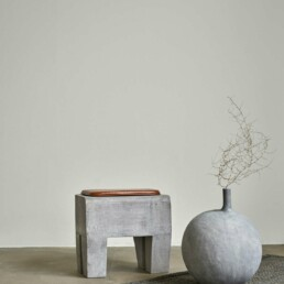 111155 4 SCULPT STOOL CONCRETE | Design Studio Anneke Crauwels | Interieur | Mechelen