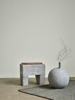 111155 4 SCULPT STOOL CONCRETE Interieur Architecten | Mechelen | Design Studio Anneke Crauwels